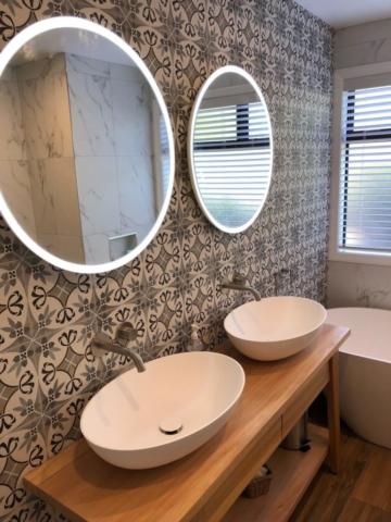 bathroom - after renovation